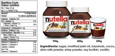 Ayesha Snack Ukuran 100gr conversion how much does a cup of nutella weigh
