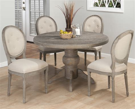 gray dining table set pieces included in this set