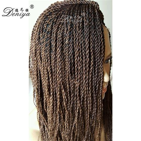 buy pre twisted senegalese twists pre twisted hair senegalese kinky twist braided lace wig