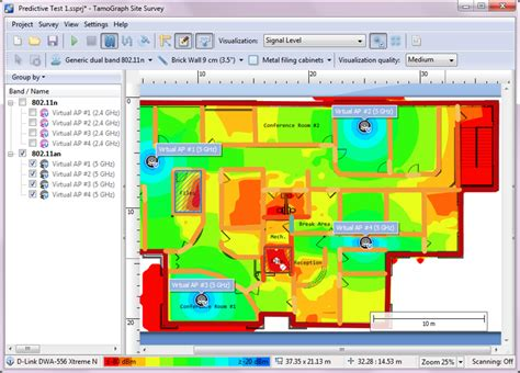 site planning software wifi planner software rf predictive surveys