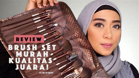 tutorial makeup yang bagus tutorial dan review brush set pupa lokal harga murah