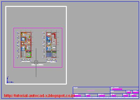 gambar layout pabrik tahu prinsip cara melakukan layout gambar di autocad tutorial
