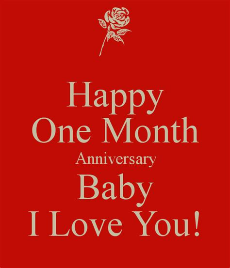 happy  month anniversary baby  love  poster creed  calm  matic