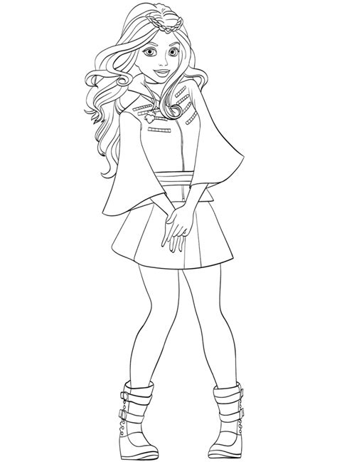 Top 15 Descendants Wicked World Coloring Pages Coloring Pages Descendants