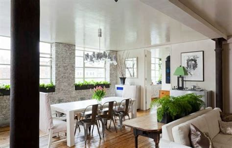 How To Split Living Room And Dining Room Distressed Paneling Country Cottage Living Room