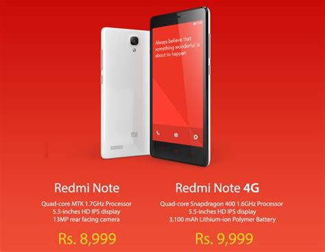 themes redmi note 4g xiaomi redmi note and redmi note 4g launched in india