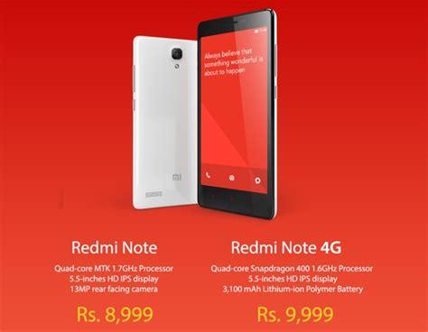 tutorial root xiaomi redmi note 4g xiaomi redmi note and redmi note 4g launched in india