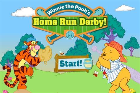 winnie the pooh home run derby baseball