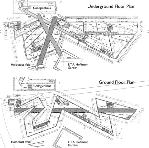 jewish museum berlin floor plan the labyrinthine aesthetic in contemporary museum design