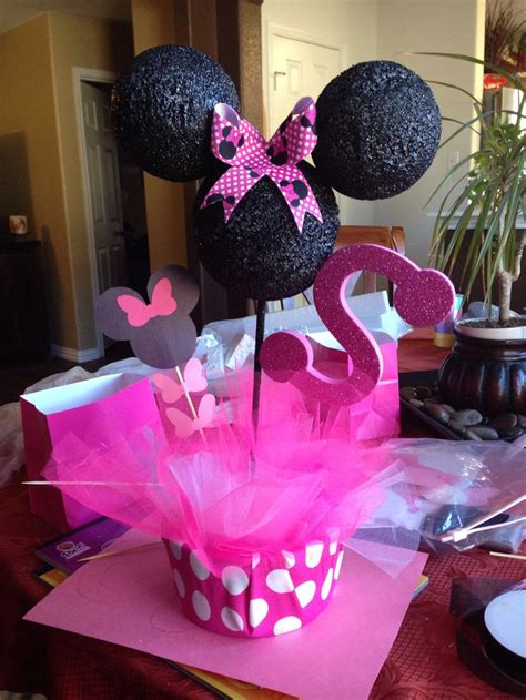 Minnie Mouse Table Decorations minnie mouse table decorations mickey mouse ideas
