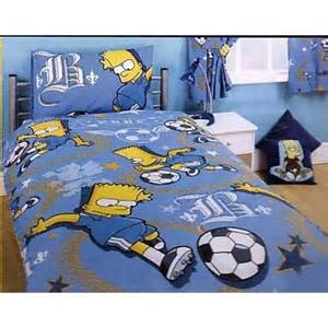 Bart Simpson Duvet Cover Kids Childrens Bart Simpson The Simpsons Duvet Cover And