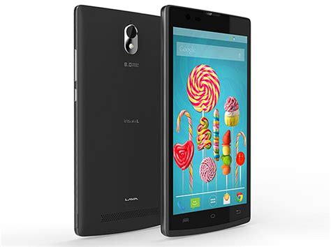 Lava L L by Lava Iris Alfa L With 8 Megapixel Android 5 0 Lollipop Launched At Rs 8 000