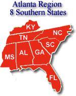 social security atlanta region area