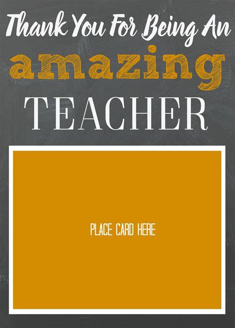 Teacher Appreciation Gift Card Holder - teacher appreciation gift card holder moms without answers