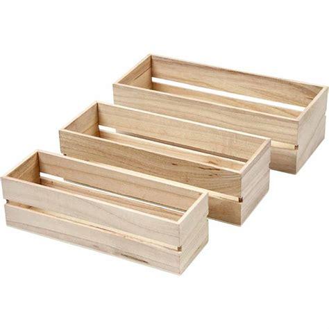 Mini Storage Box Display set of 3 open top mini display fruit box storage boxes