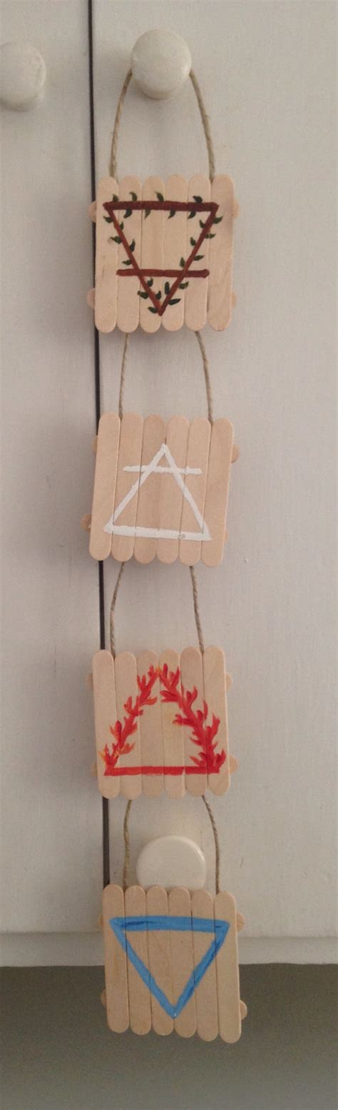pagan home decor etsy 4 elements earth air fire water witchy pagan wiccan home decor
