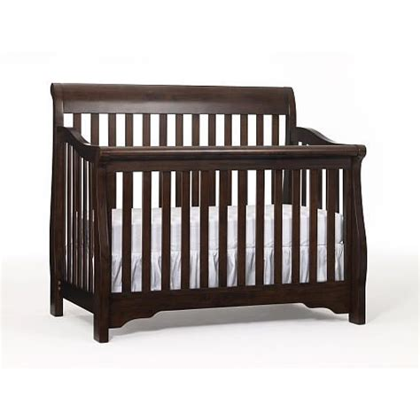 Crib History by The Babi Italia Hamilton Convertible Crib In Chocolalate