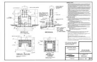 Draw House Plans To Scale Free by Fireplace Detail Drawing Submited Images