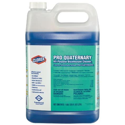 clorox pro quaternary  purpose disinfectant cleaner clo dorazio cleaning supply