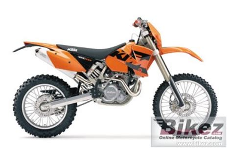 2000 Ktm 400 Exc 2000 Ktm 400 Exc Racing Specifications And Pictures