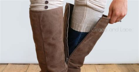 boot cuffs and boot socks from grace and lace from shark