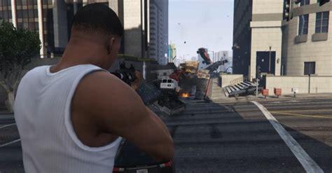 mod gta 5 reddit gta v vehicle cannon mod adds a gun that fires cars rock
