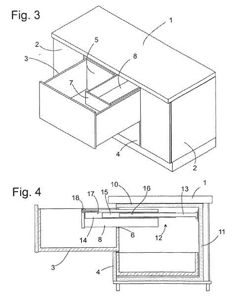 schublade zeichnung patent ep2271881b1 k 228 lteger 228 t mit schublade patents