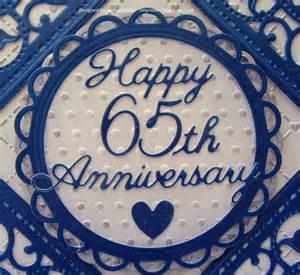 tinyrose s craft room 65th wedding anniversary card