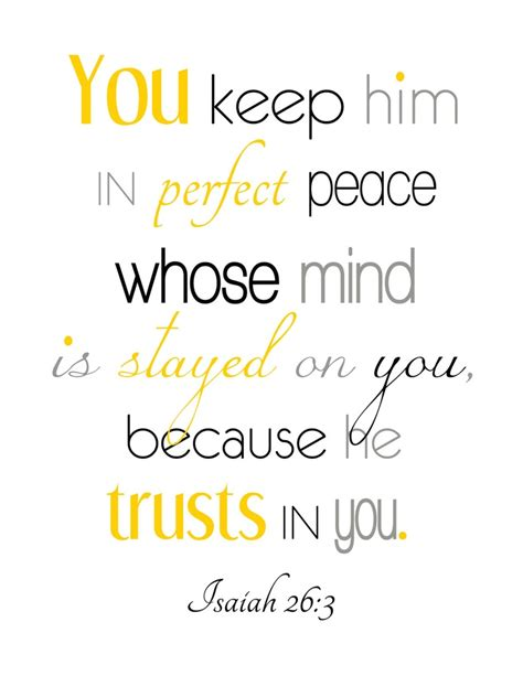 printable peace quotes isaiah 26 3 printable typography perfect peace scripture
