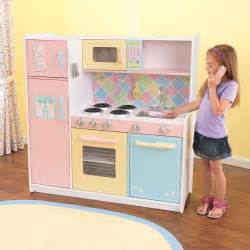 Pretend Kitchen Furniture Kidkraft Children Wooden Kitchen Pretend Play Cooking