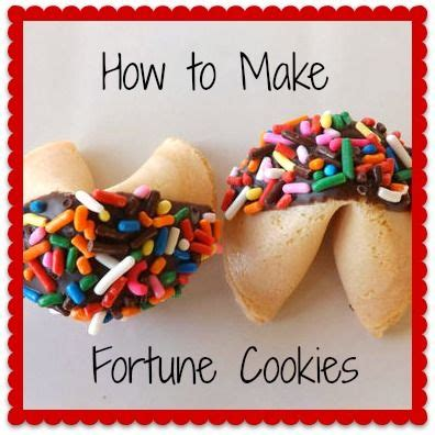 How To Make Fortune Cookies With Paper - 17 best images about new year ideas on
