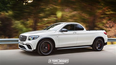 mercedes pickup truck mercedes amg glc 63 pickup truck is for the rich rednecks