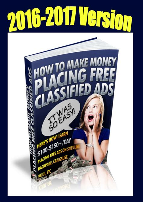 Make Money Placing Ads Online - how to make money placing free ads online inkwell editorial