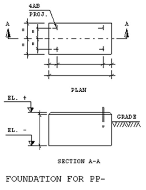 design criteria of foundation bn ds j05 foundations for pumps soil bearing