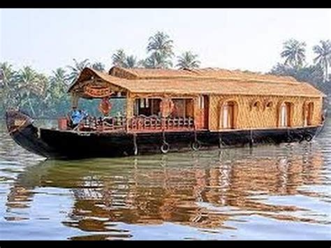 alleppy boat house alappuzha boat house alleppey backwaters kerala youtube