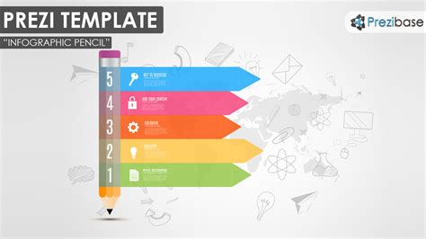 how to prezi template infographic pencil prezi template prezibase