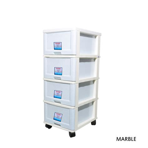 Plastic Four Drawer Storage Cabinet by 903 Toyogo Plastic Storage Cabinet Drawer With Wheels