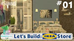 Furnish Your Home let s build the sims 4 ikea store part 1 youtube