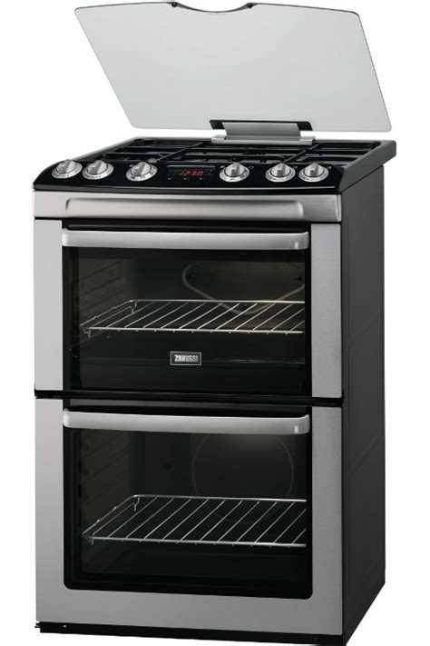 Dapur Gas Oven Zanussi buy zanussi zcg664gxc gas cooker with oven stainless steel marks electrical