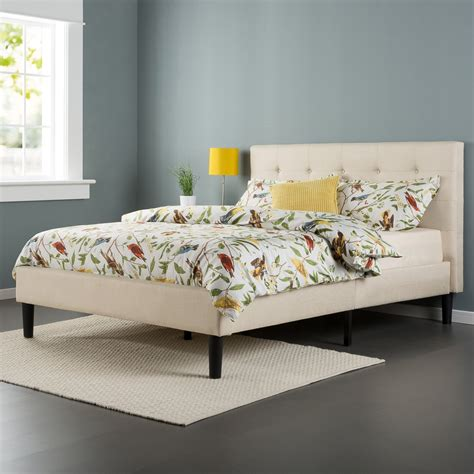 Modern Upholstered Bed by Modern Upholstered Platform Bed Image Room Decors And