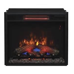 Fireplace Insert Electric Classicflame 23 In Spectrafire Plus Infrared Electric Fireplace Insert 23ii310gra