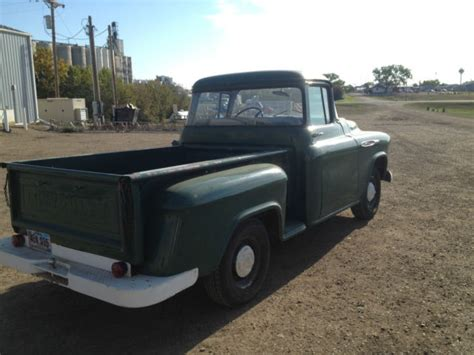 1957 chevy stepside pick up 1957 chevy stepside shortbed pickup for sale chevrolet