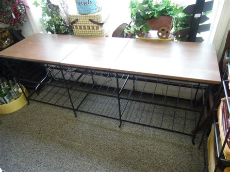wrought iron tv table longaberger wrought iron stand shop collectibles daily
