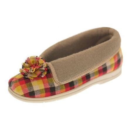 slipper care odette wide fitting pompom slippers 163 14 99