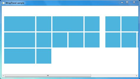 xaml listbox layout c is there a way to display items of varying width in