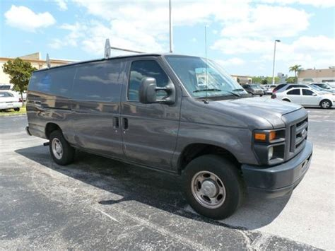 how cars engines work 1990 ford e series regenerative braking buy used 008 ford e250 cargo van needs engine work in pompano beach florida united states
