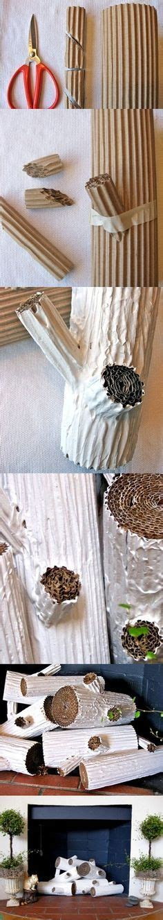 cardboard tree trunk exles cing party ideas