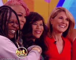 Nicolle wallace pictured from left to right are all current co hosts