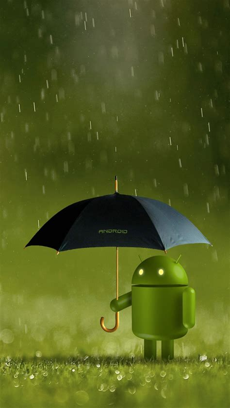 best wallpaper hd galaxy s4 android robot doll rain best htc one wallpapers