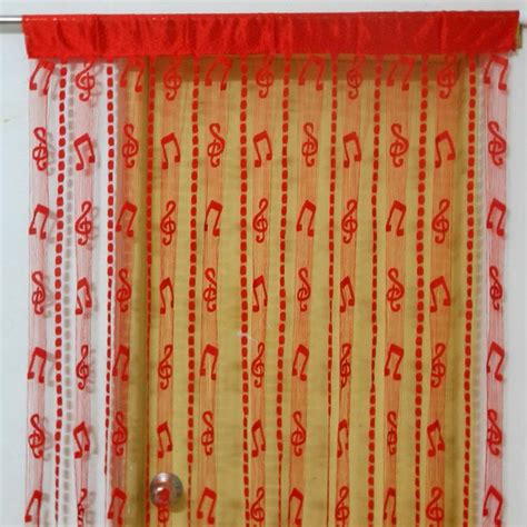 music note window curtains window curtain pattern photo